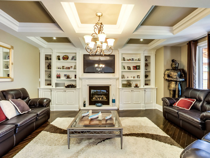 Theater Kings - AV Wall Units - High End Audio Video Cabinets